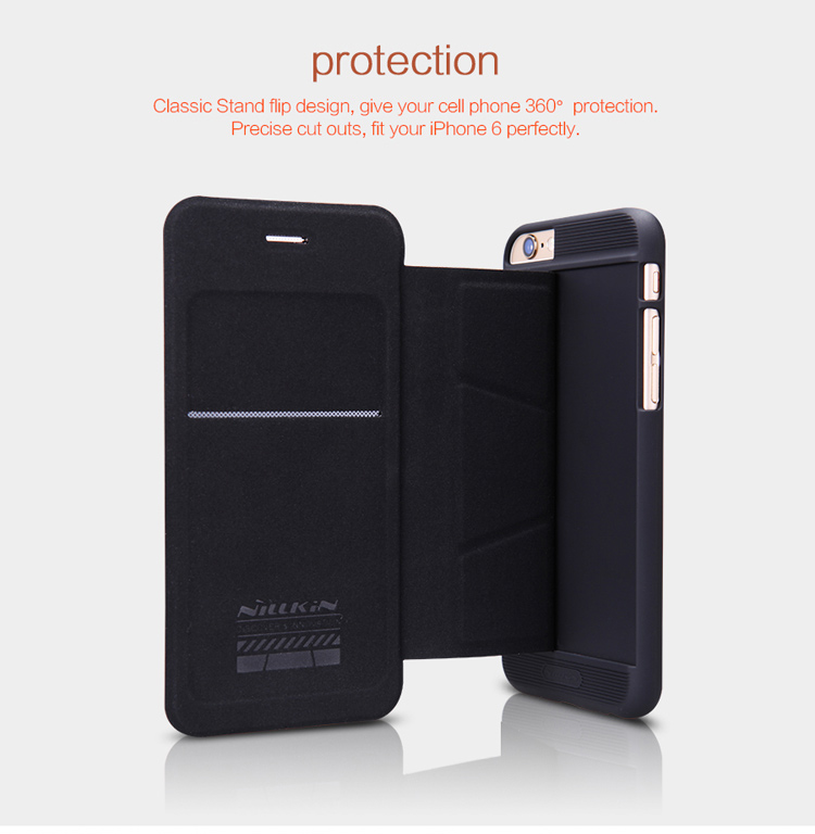 NILLKIN Ming Series Wallet Flip Leather Case For iPhone 6 4.7Inch