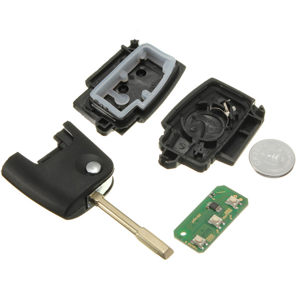 433MHz 3 Button Remote Key Transponder For FORD Focus Mondeo TRANSIT