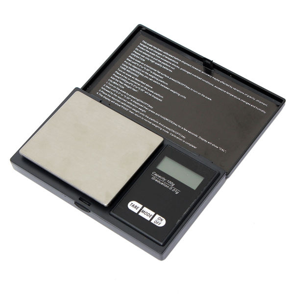 100g x 0.01g Electronic Mini Pocket Diamond Jewelry Digital Scale