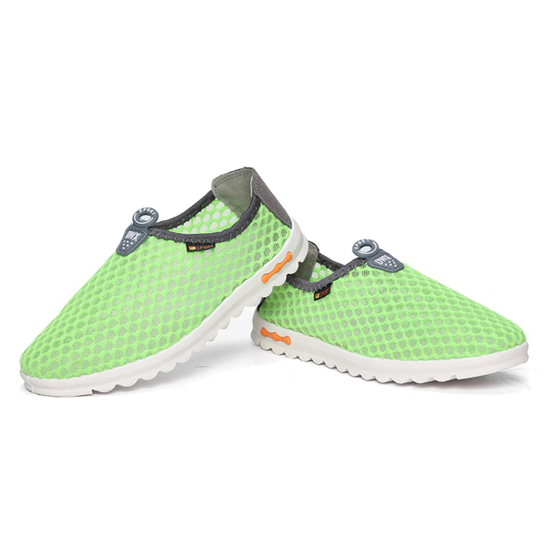 Couples Hollow Out Breathable Mesh Cozy Casual Womens Shoes