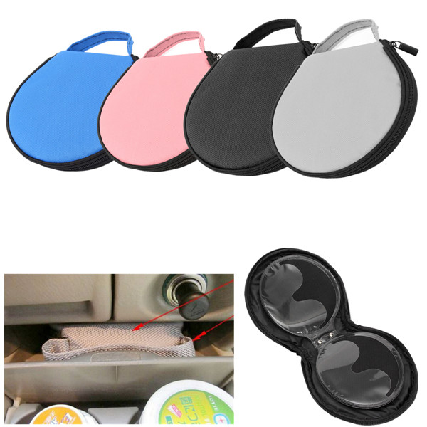Portable CD DVD DISC Clear Cover Storage Case Wallet Bag