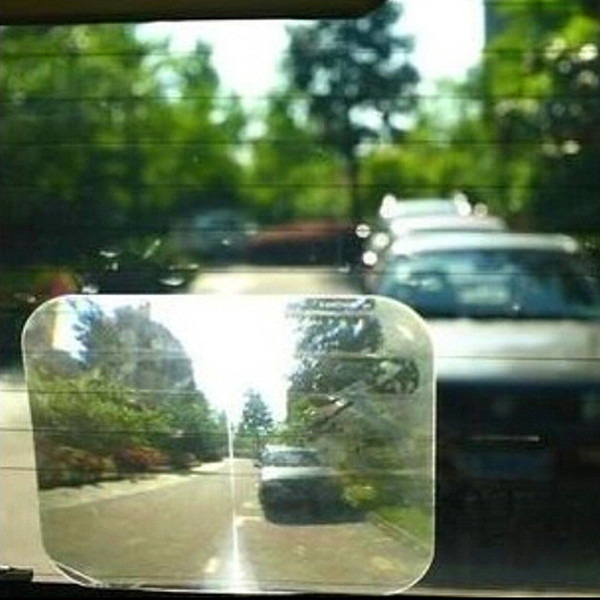 Wide Angle Rear Lens Parking Reversing Aid Blind Spot View Back Window Car