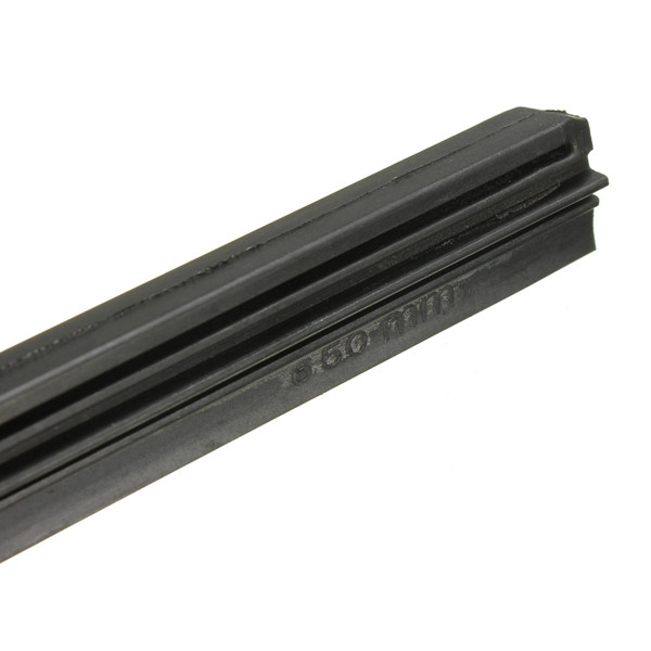 26 Inch 6mm Frameless Wind Shield Wiper Blade Refill For Car Silicone Universal
