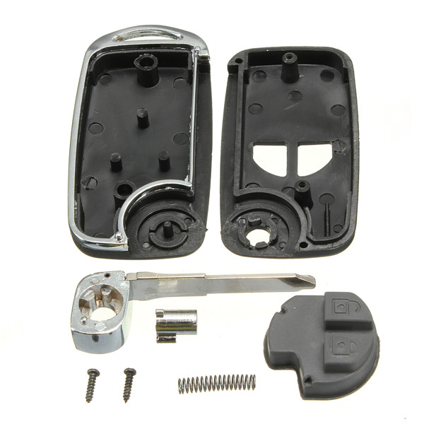 2 BTN Remote Flip Folding Key Shell Case Kit For SUZUKI Ignis Swift Grand Vitara