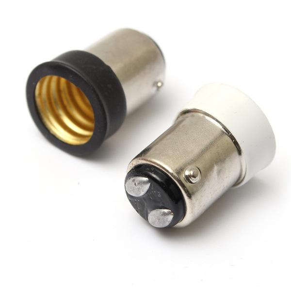 Small Bayonet SBC B15 To Small Screw SES E14 Light Bulb Holder Adaptor Converter