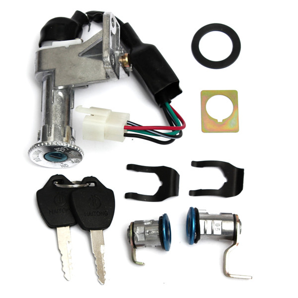 4Pins Key Switch Ignition Lock For 50cc 150cc GY6 Scooter