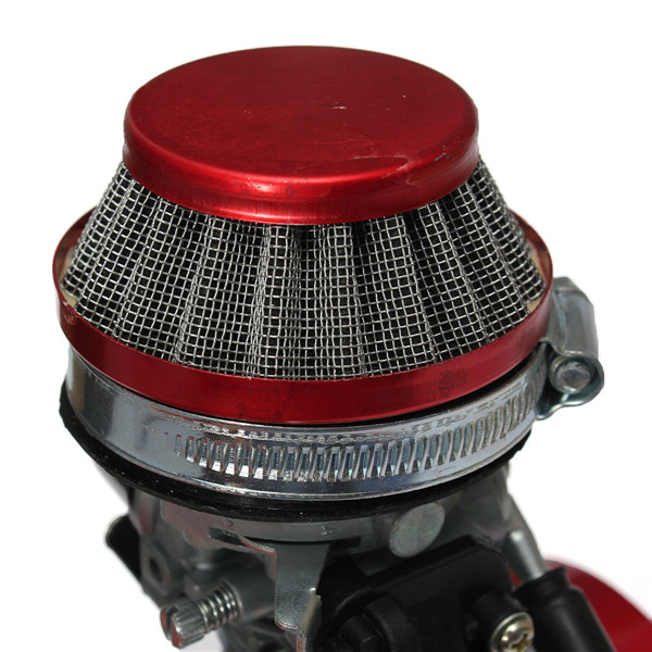 49cc Manual Racing Engine Red Mini Pocket Mini Moto Air Cooled ATV Dirt Bike