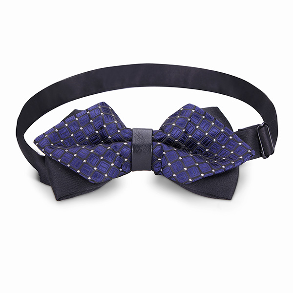 Men Bow Tie The Groom Sharp Corner Polyester Wedding Accessories