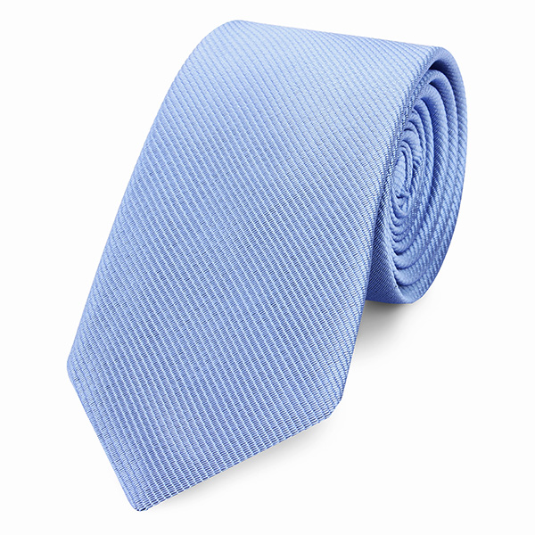 6CM Narrow Men Tie Homochromy Transposed Twill Businessman Accessories