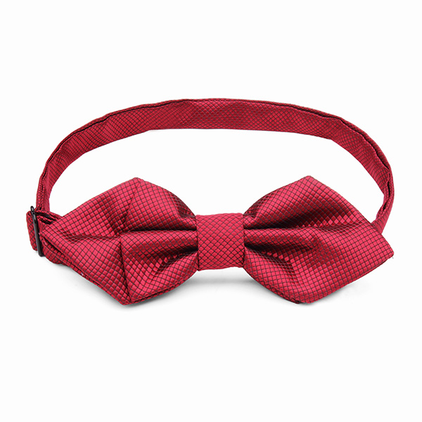 Men Homochromy Angle Type Bow Tie The Groom Wedding Party Accessories