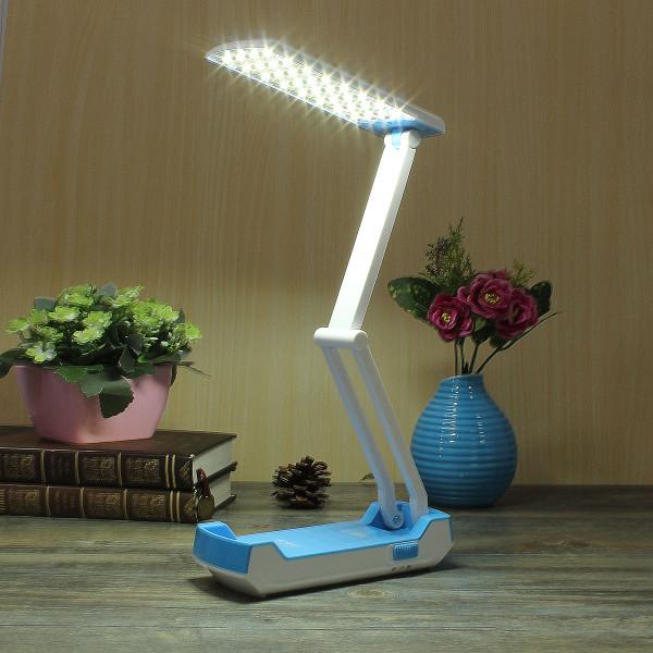 Portable Folding LED Foldable Rechargeable Table Study Reading Light Desk Lamp