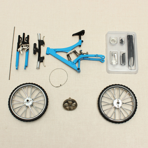 Bicycle Model Simulation DIY Alloy Mountain/Road Bicycle Set Decoration Gift Model