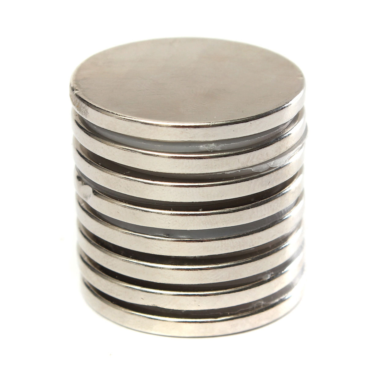 10pcs N52 30mmx3mm Strong Round Disc Magnets Rare Earth Neodymium Magnets