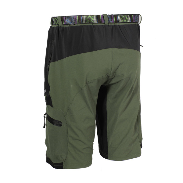ARSUXEO Outdoor Mens Leisure Riding Pants Cycling Bike Bicycle Shorts