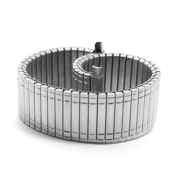 12MM 14MM 16MM 18MM Stainless Steel Silver Spring Watch Band