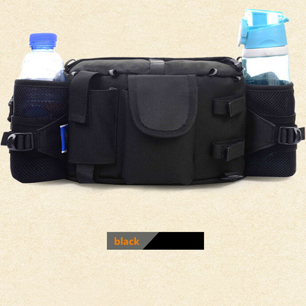 Men Outdoor Camping Water Bottle Pouch Sports Travel Waist Pack