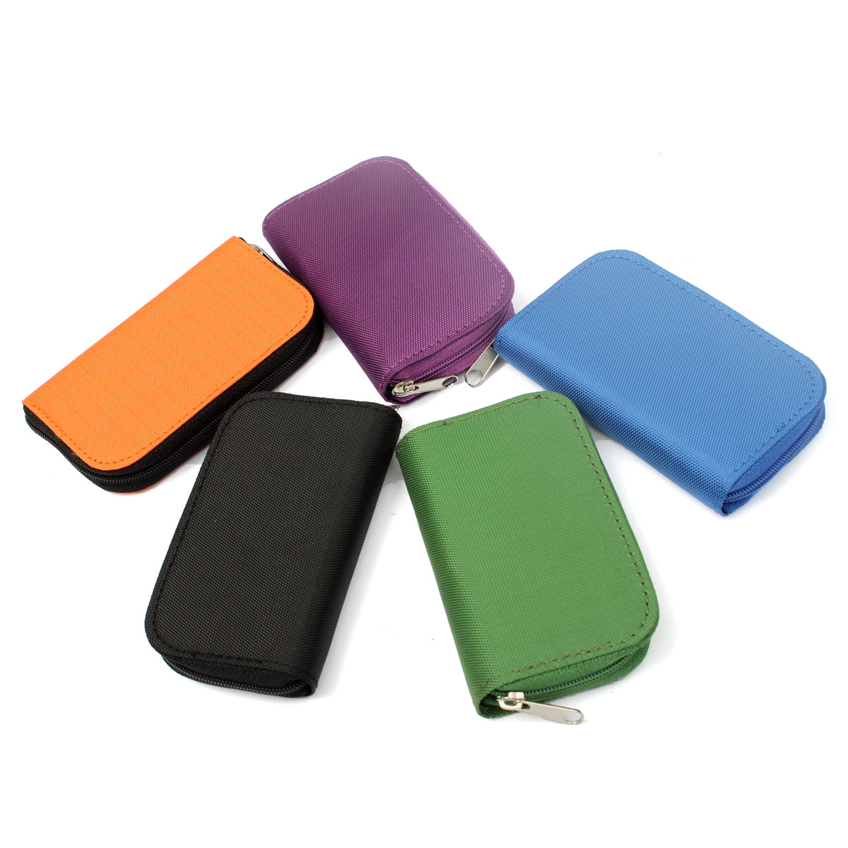 22pcs CF/SD/SDHC/MS/DS Micro Memory Card Case Storage Pouch Wallet Bag Holder