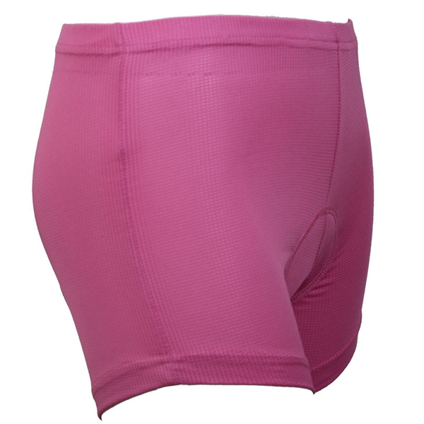 Arsuxeo Women Sports Cycling Shorts Riding Pants Underwear Shorts With Silicone Pad Pink