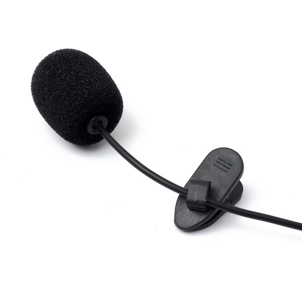 Collar Mini 3.5mm Tie Lapel Lavalier Clip Microphone For Lectures Teaching