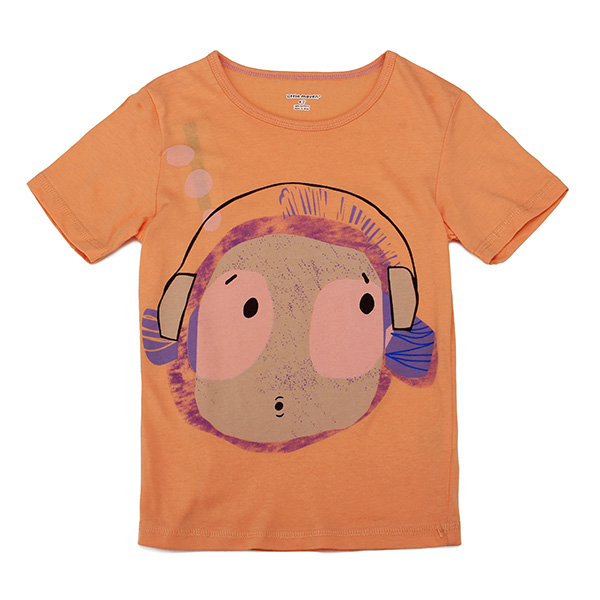 2015 New Little Maven Lovely Headset Boy Baby Children Boy Cotton Short Sleeve T-shirt