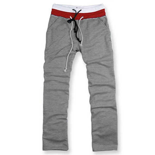 Mens Gym Yoga Athletic Sweatpants Loose Fit Sport Casual Long Trousers