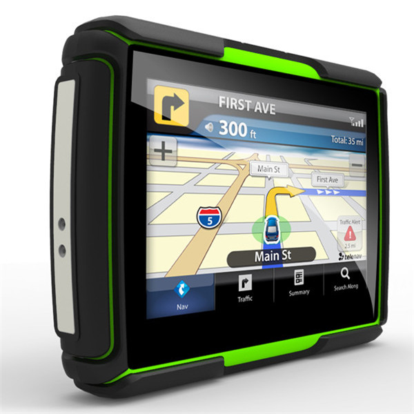 4.3inch Touchscreen Waterproof Motorcycle Car GPS Navigation NAV 8GB