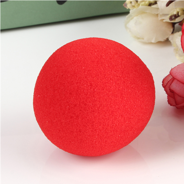 20PCS Close Up Magic Street Trick Soft Sponge Ball Props Clown Nose
