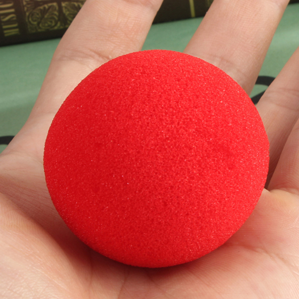 30PCS Close Up Magic Street Trick Soft Sponge Ball Props Clown Nose