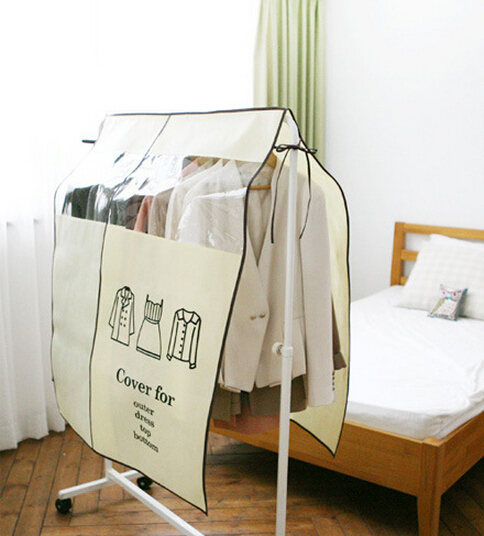Anti Dust Waterproof Clothes Shirts Wardrobe Cover Non-woven Fabric Storage Bag