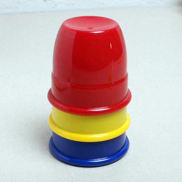 Kingmagic Three Balls Return Cups Magic Toy Magic Props G0595