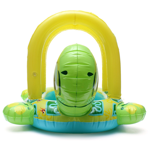 Baby Kids Tortoise Shape Inflatable Pool Float Seat Boat Water Swim Ring