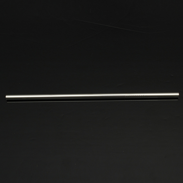 4pcs 6mm Reusable Stainless Steel Straight Drinking Straw With Cleaning Brushes