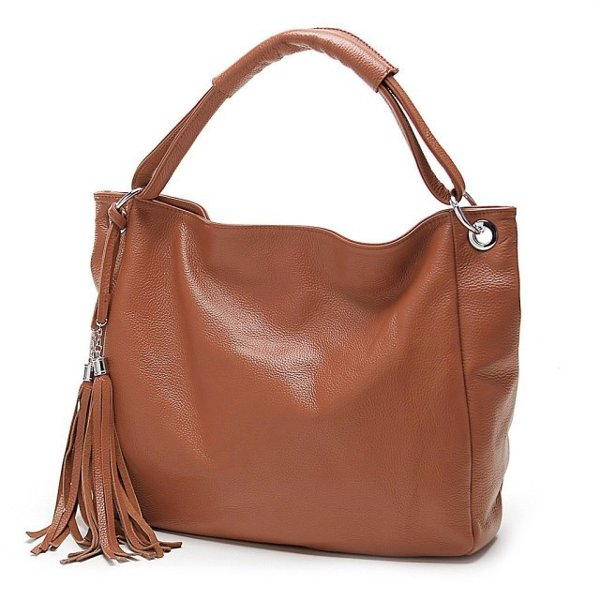 PU Leather Women Vintage Tassel Handbag Luxury Handbag Tote Crossbody Bags