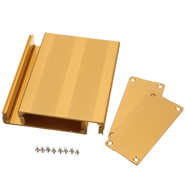 Aluminum PCB Project Circuit Box Enclosure Case Electronic Instrument DIY 100x76x35mm