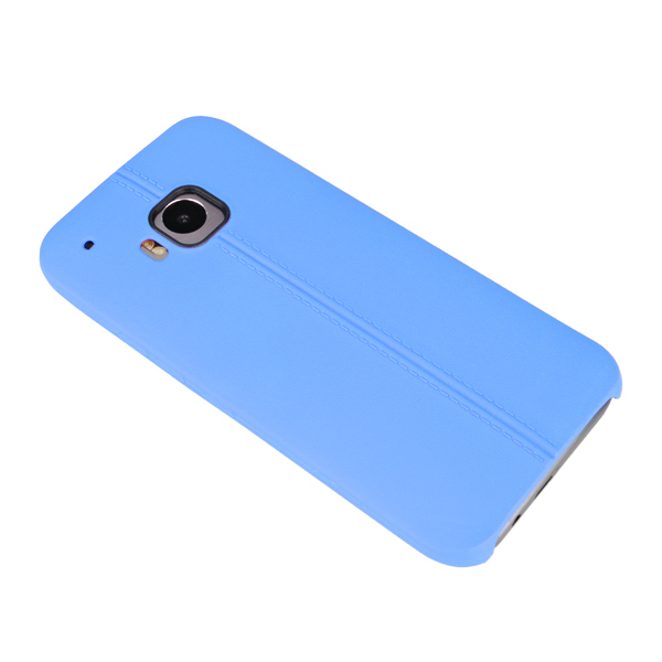 Dual Line Soft TPU Protective Case Cover For HTC ONE M9