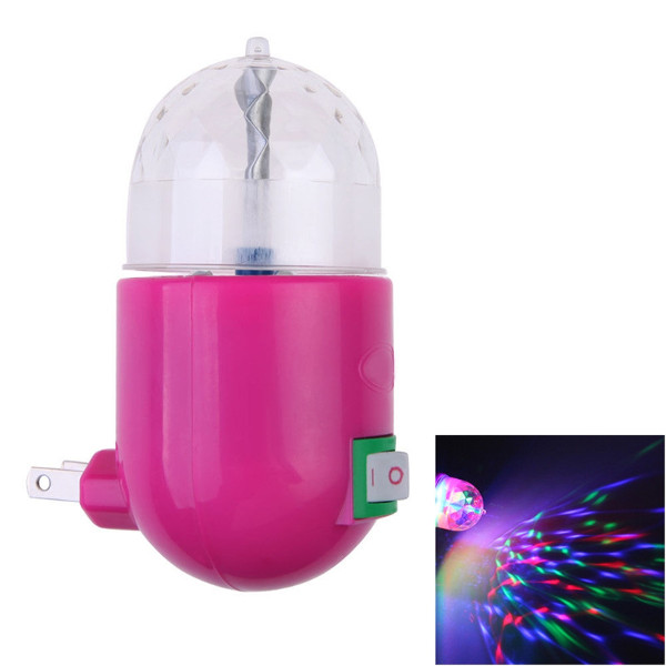 3W Magic Ball Rotating RGB LED Lamp Stage Light for Disco Party Gift AC 85-265V
