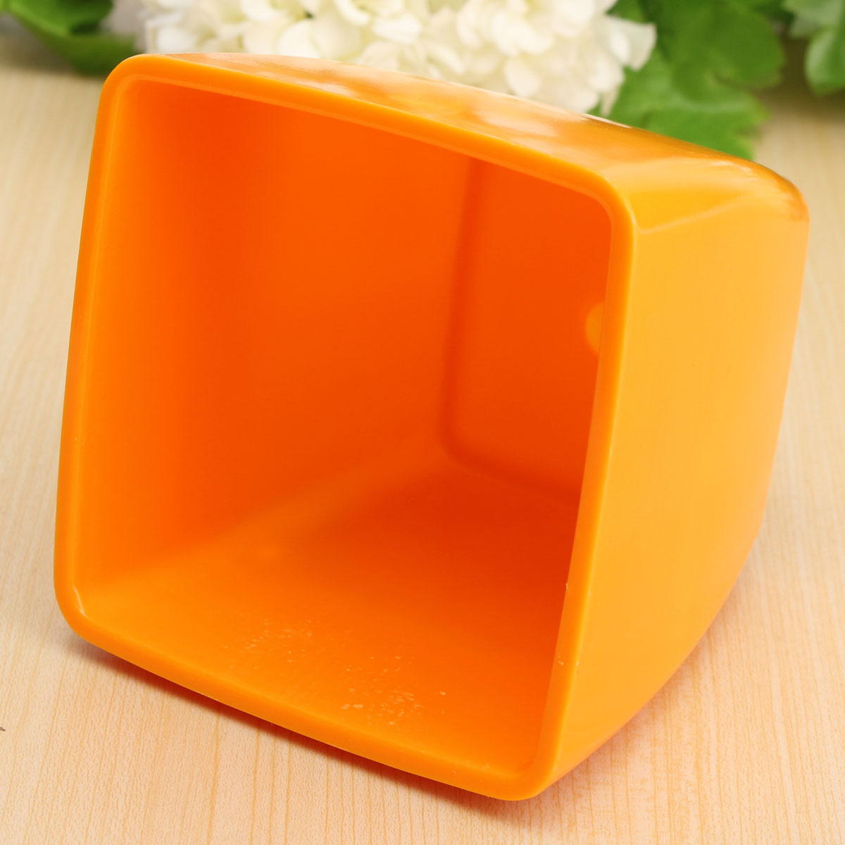 Plastic Square Ceramic Color Flower Pot Garden Succulent Plants Flower Pot