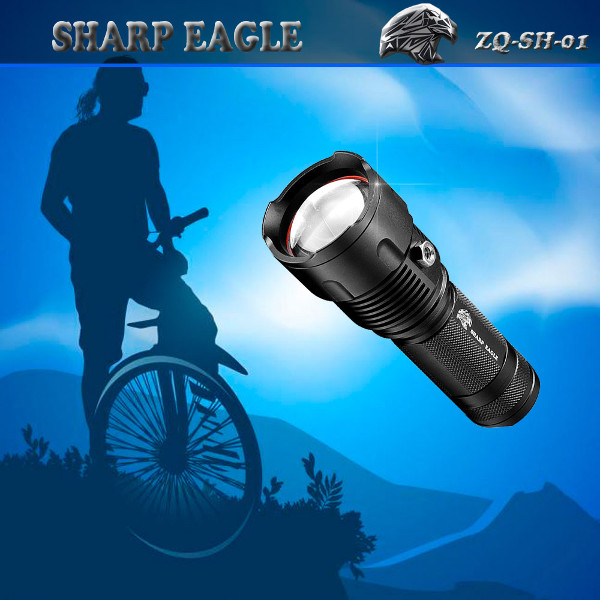 SHARP EAGLE ZQ-SH-01 XML-XPE 800LM 3 in 1 LED Flashligh