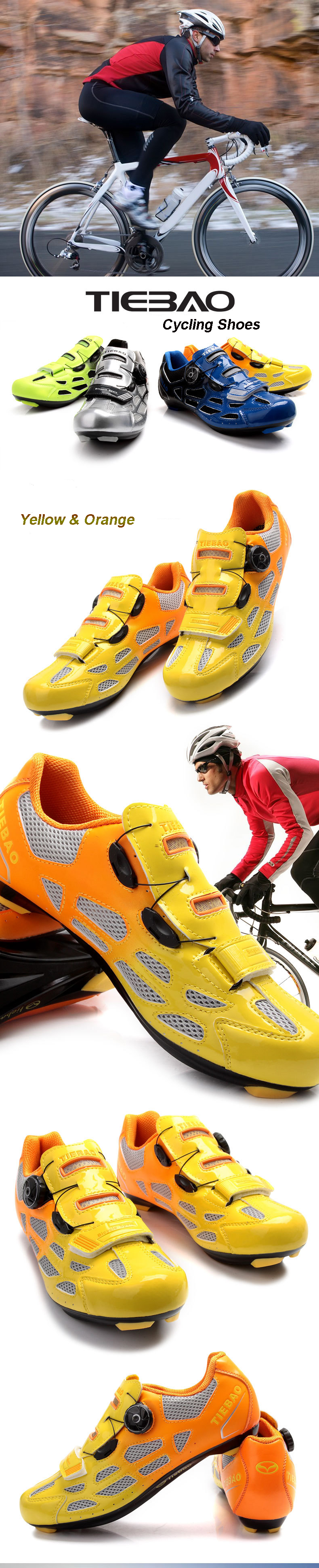 Road Bike Bicycle Shoes Outdoor Sport Cycling Self-locking Shoes