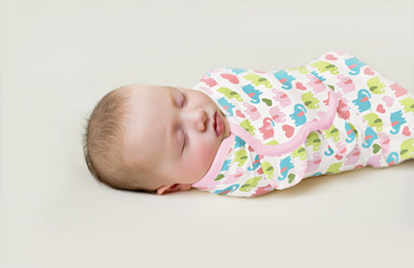 Adjustable Baby Infant Newborn Soft Cotton Swaddle Wrap Parisarc Blanket Sleepingpack