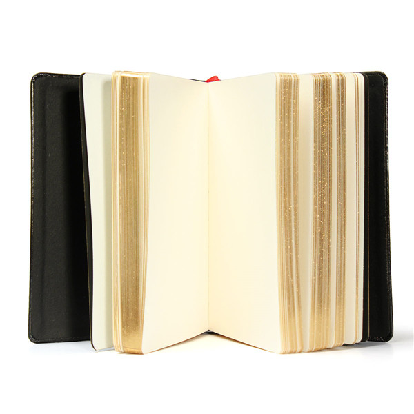 Vintage Thick Paper Notebook Leather Bible Diary Book Journals Agenda Planner School Office Supplies