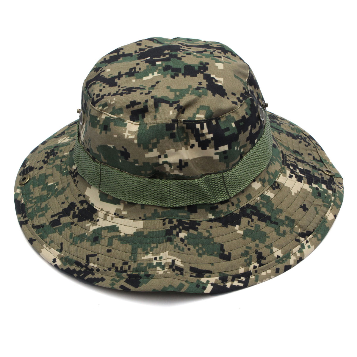 Military Boonie Hat Camo Cover Wide Brim Camouflage Camping Hunting Cap