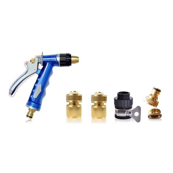 High Pressure Copper Water Device Suit Car Wash Machine Garden Cleaning Watering Flowers