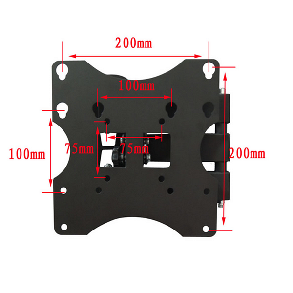 LCD LED 3D TV Flat Screen Wall Rotate Spin Swivel Tilt TV Mount Bracket 15-32