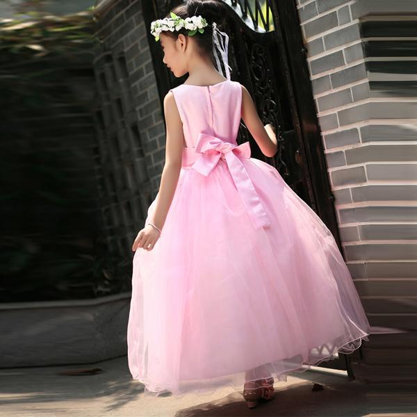 Child Baby Girl Bridesmaid Pageant Birthday Wedding Party Flower Princess Dress