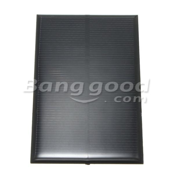 5V 250MA Monocrystalline 1.25W Mini Solar Panel Photovoltaic Panel