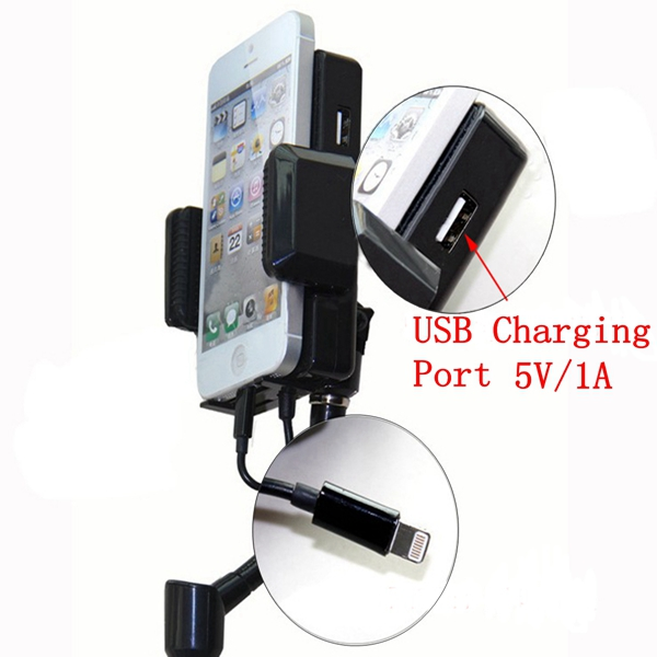 Car FM MP3 Radio Transmitter Hands Free Charger Holder For IPHONE 5 6 IPOD HTC