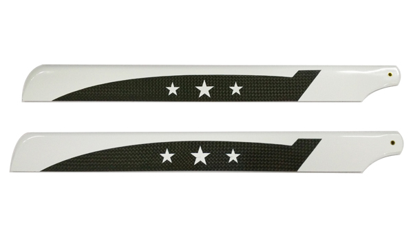 325mm Carbon Fiber Main Blade For 450 Helicopters