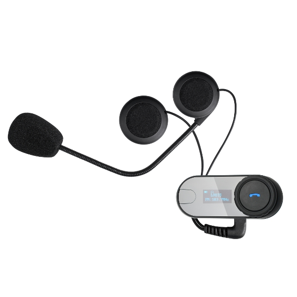 T-COM 800M LCD Motorcycle Helmet Intercom Stereo Headset With bluetooth FM MP3 Function