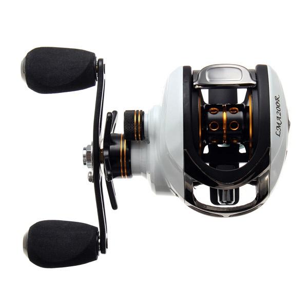 ZANLURE LPR-01 LAM200 11 BB 6.3:1 Low Profile Fishing Reel Left Right Hands